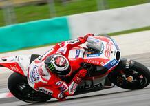 """MotoGP. Ducati. Lorenzo: """"Che miglioramento!"""". Dovizioso: """"Posso giocare"""""""