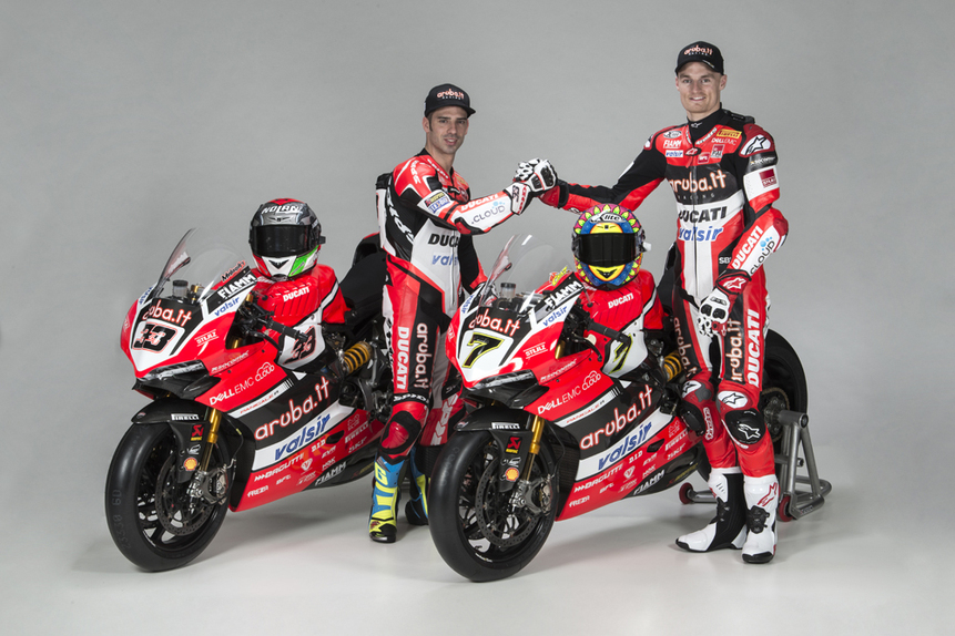 La presentazione del team Aruba.it Racing Ducati 2017