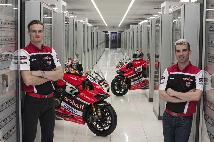La presentazione del team Aruba.it Racing Ducati 2017 (4)