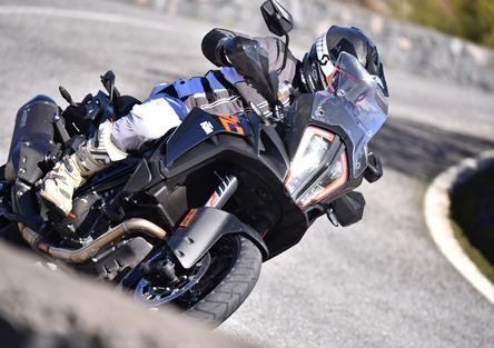 KTM 1290 SuperAdventure S Maxienduro spaziale