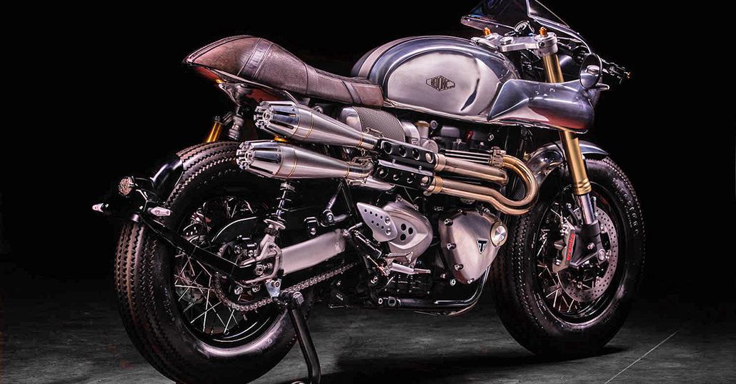 Triumph Thruxton R Hedonic. E' nato un nuovo marchio