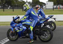 Suzuki GSX-R1000R: Iannone e Rins a Phillip Island [gallery]