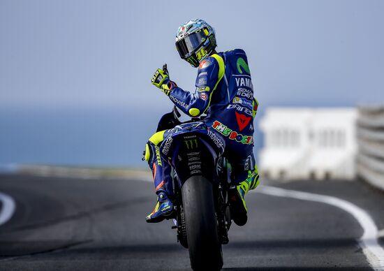 """Test MotoGP. Day 2. Rossi: """"Sarà dura battere Viñales"""""""