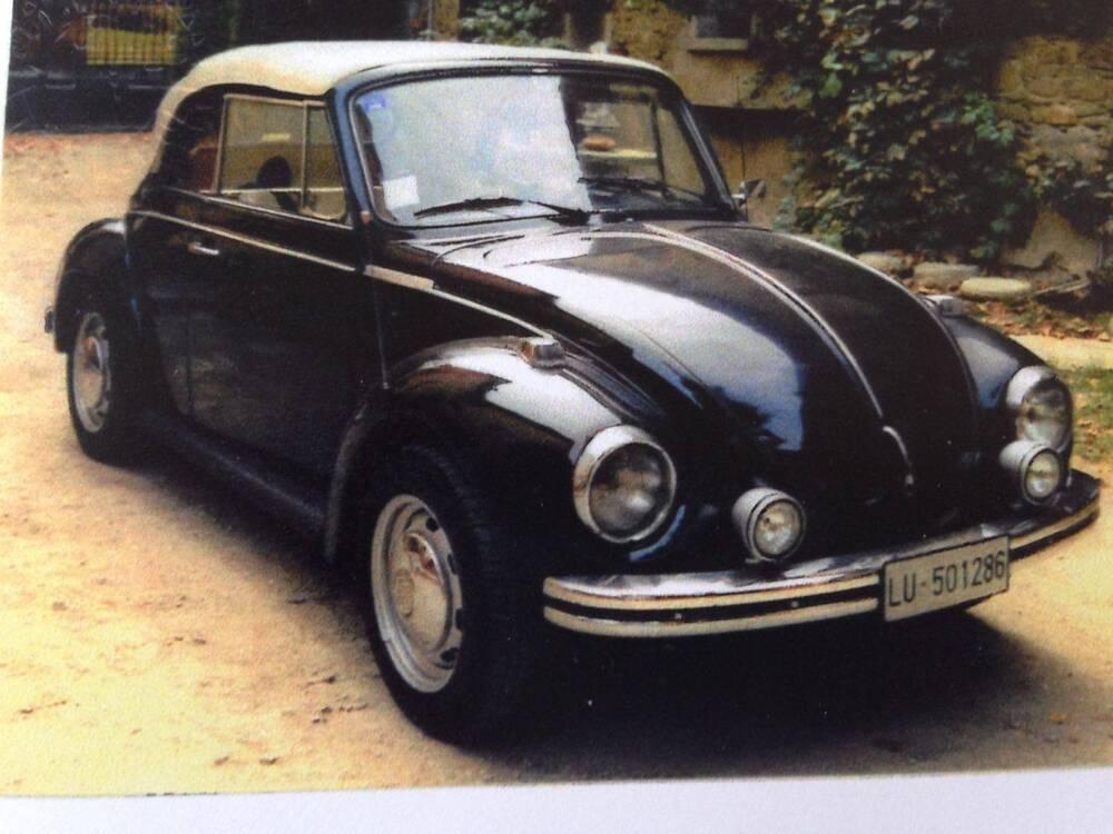 Maggiolone Cabrio d'epoca del 1973 a Lugo