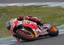 MotoGP. Test HRC a Jerez, lussazione per Marquez