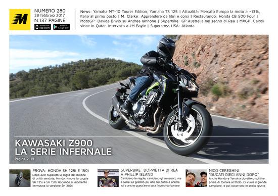 Magazine n°280, scarica e leggi il meglio di Moto.it