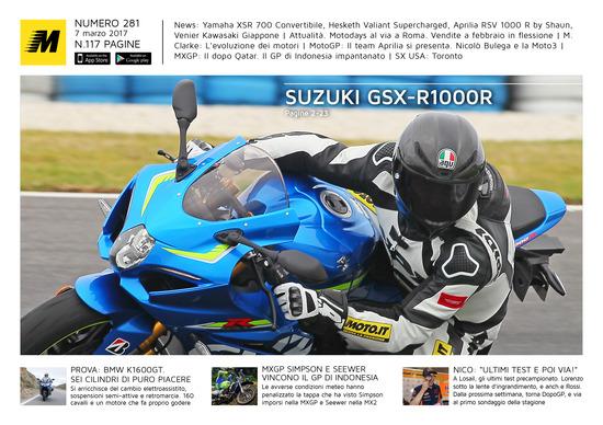 Magazine n°281, scarica e leggi il meglio di Moto.it