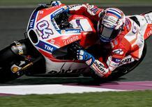MotoGP 2017. Qatar test, Dovizioso è il più veloce del Day 1
