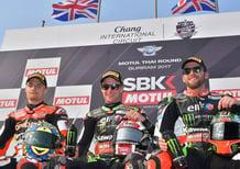 SBK. Rea vince Gara-1 del GP di Thailandia