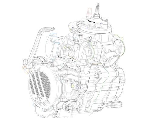 Le KTM EXC 250 e 300 2 tempi 2018 avranno l'iniezione elettronica, è ufficiale