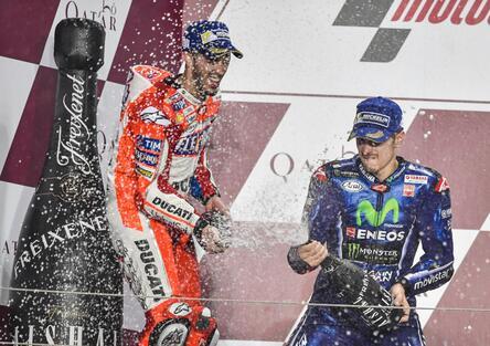 MotoGP 2017. Dovizioso: Sono l'unica Ducati là davanti