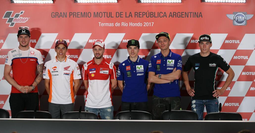 Motp GP, Argentina: la conferenza stampa dei piloti