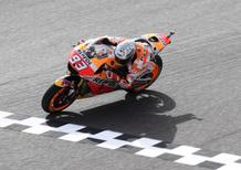 MotoGP 2017. Marquez si aggiudica le qualifiche (bagnate) del GP d'Argentina
