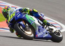 """MotoGP 2017. Rossi: """"Stessi problemi su asciutto e bagnato"""""""