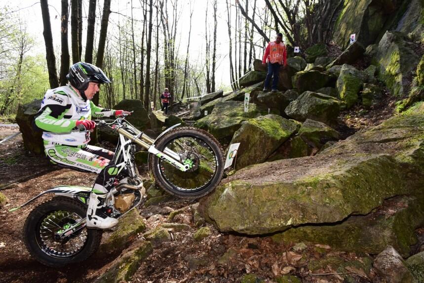 Campionato Italiano Trial. Falsa partenza