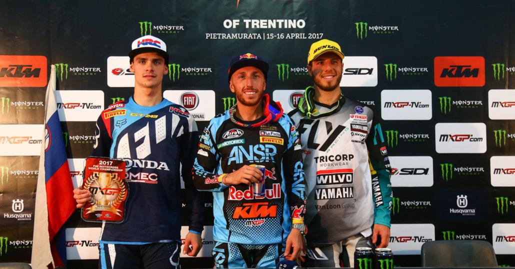 MXGP. Le interviste del GP del Trentino