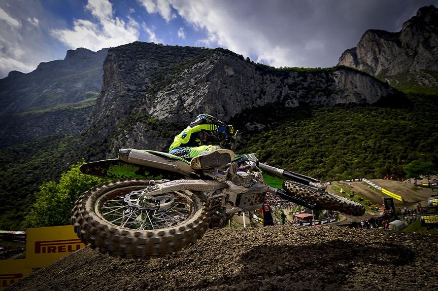 MX, GP del Trentino 2017. Le foto più spettacolari
