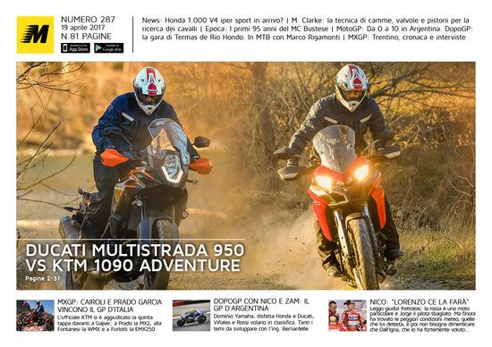 Magazine n°287, scarica e leggi il meglio di Moto.it