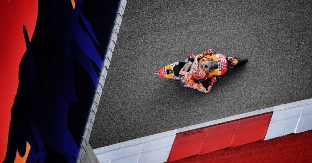 MotoGp Usa, Marquez 1°. Rossi (2°) vola in testa al Mondiale