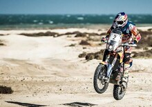 """Cross-Country Rally 2017. Qatar. """"Solito"""" Sunderland (KTM) e il ritorno di Al Attiyah (Toyota)"""