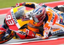 MotoGP 2017. Marquez, Vinales e Rossi in prima fila nel GP di Austin