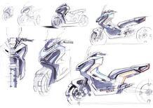 Honda X-ADV: cinque artisti la reinterpretano