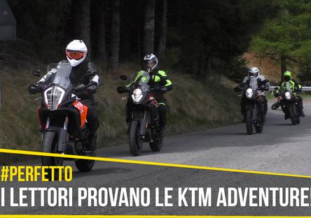 Tester per un giorno sulle KTM Adventure: la prova dei lettori!