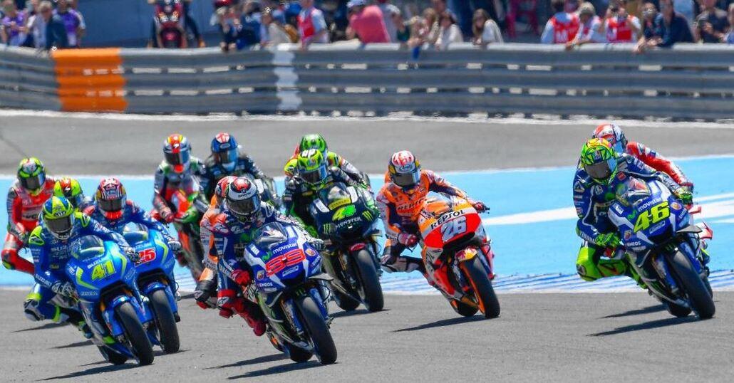 MotoGP Test Valentino Rossi