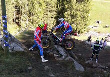 Luca Corvi Vicecampione Europeo Trial Junior